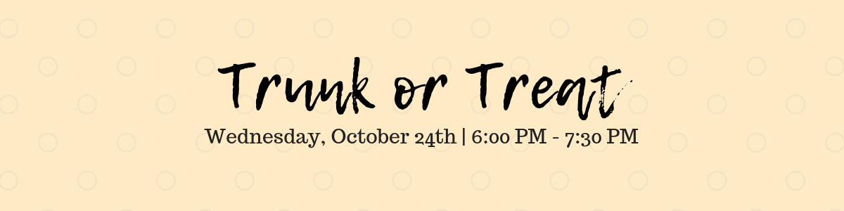 2pres – Trunk or Treat banner