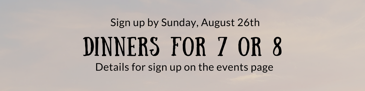 2pres – dinners 7 8 banner
